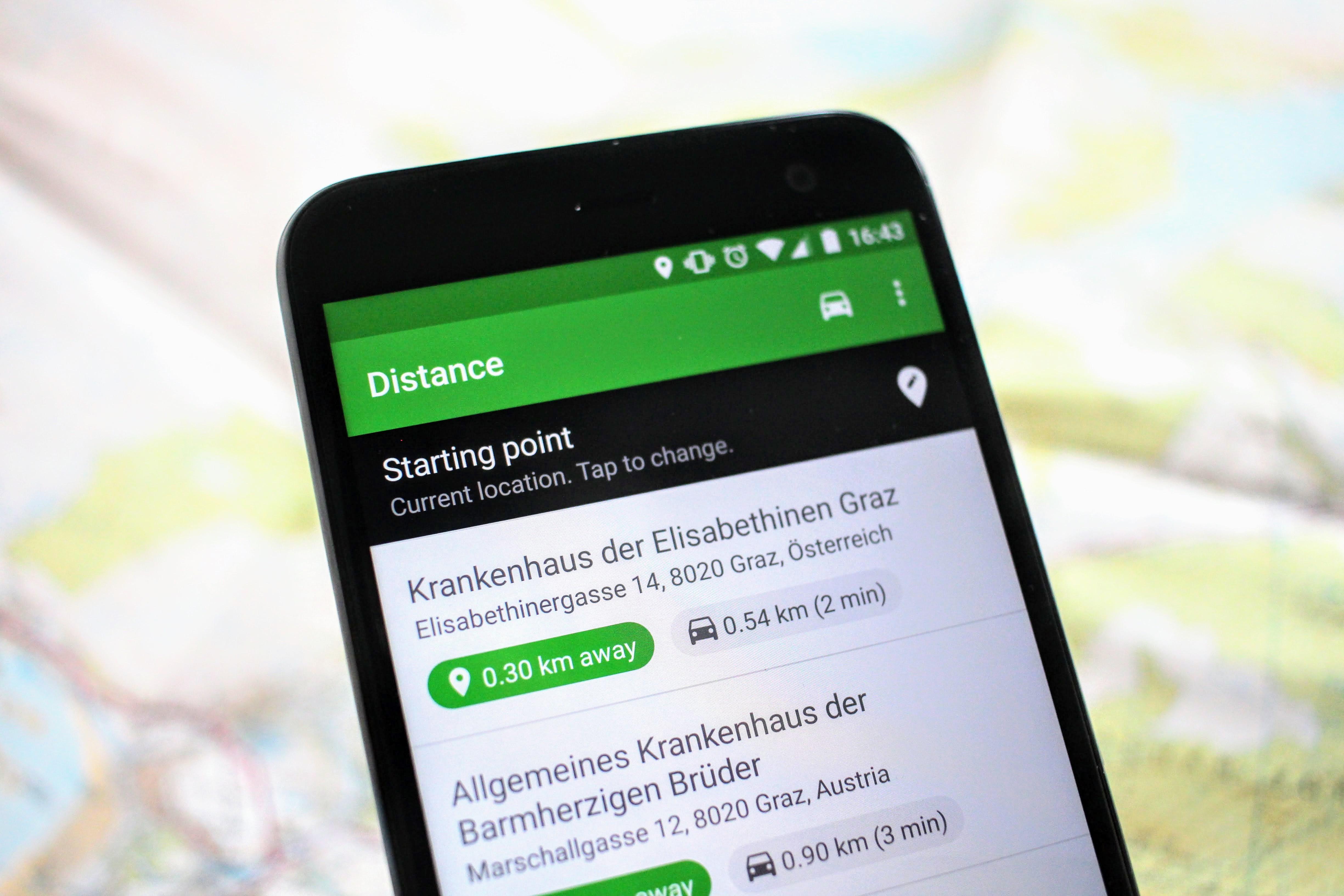 Maps Entfernungsmesser Iphone : Entfernung markus deutsch